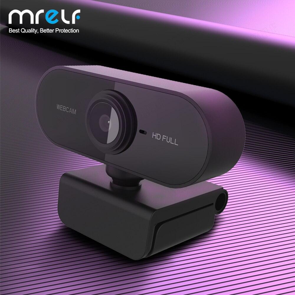 HD 1080P камера 4K USB компьютера для работы веб-камера для ПК мини веб-камера с возможностью поворота камеры прямой трансляции видео веб-камеры П...