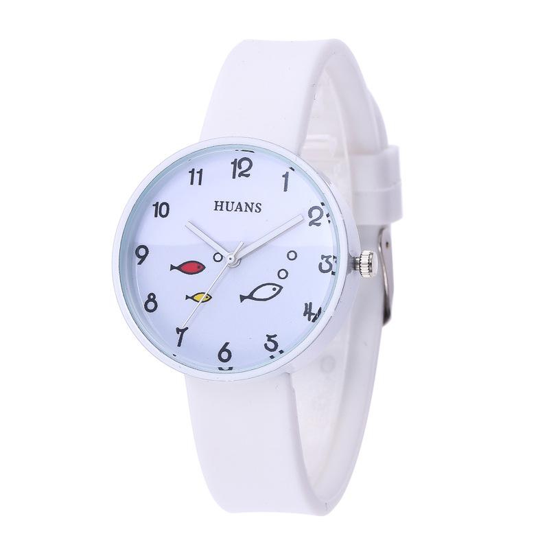Students Children Watch  The Girl  Simple Small And Fresh  The Silicone  Kids Watches