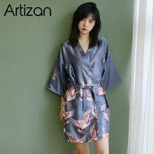 ผ้าไหมซาตินแต่งงานเจ้าสาว Bridesmaid Robe Fowl เสื้อคลุมอาบน้ำ Kimono Robe robe Robe Robe อาบน้ำแฟชั่น Dressing Gown สำหรับผู้หญิง