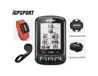 iGPSPORT IGS618 GPS Cycling Computer with Heart Rate Monitor