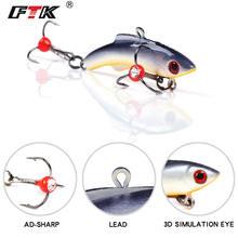 Ftk зимняя приманка для подледной рыбалки 15 г 20 25 подвижная
