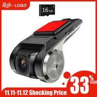 Anytek X28 voiture DVR caméra complète 2MP avant HD 1080P WiFi g-sensor ADAS GPS vidéo Auto enregistreur tableau de bord caméra grand angle lentille voiture DVR