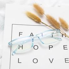 Classic Rectangle Anti-Blue Light Glasses For Men PC Frame Computer Women's Eyeglasses Vision Care Eyewear