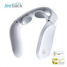 Xiaomi-Jeeback G2 Neck Massager Electric Cervical Massager Hot Compress L-Shaped Wear 360 Floating Massage Work With Mijia App