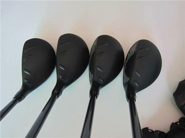 BIRDIEMaKe Golf Clubs 410 Hybrid 410 Golf Hybrids 17/19/22/26 Degrees R/S/SR Flex Graphite Shaft With Head Cover 1