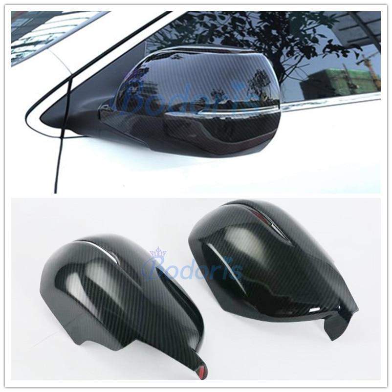 Chrome Side Door Rearview Wing Mirror Cover Trim For Honda CR-V CRV 2012-2016