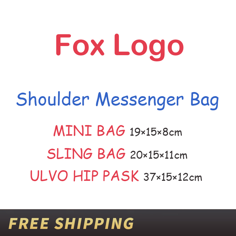 Girls Like Outdoor Travel Mini Sling Bag Sweden Classic Ulvo Hip Pask Bags Couple Schoolbag Leisure Sports Bag Men Women Mochila image