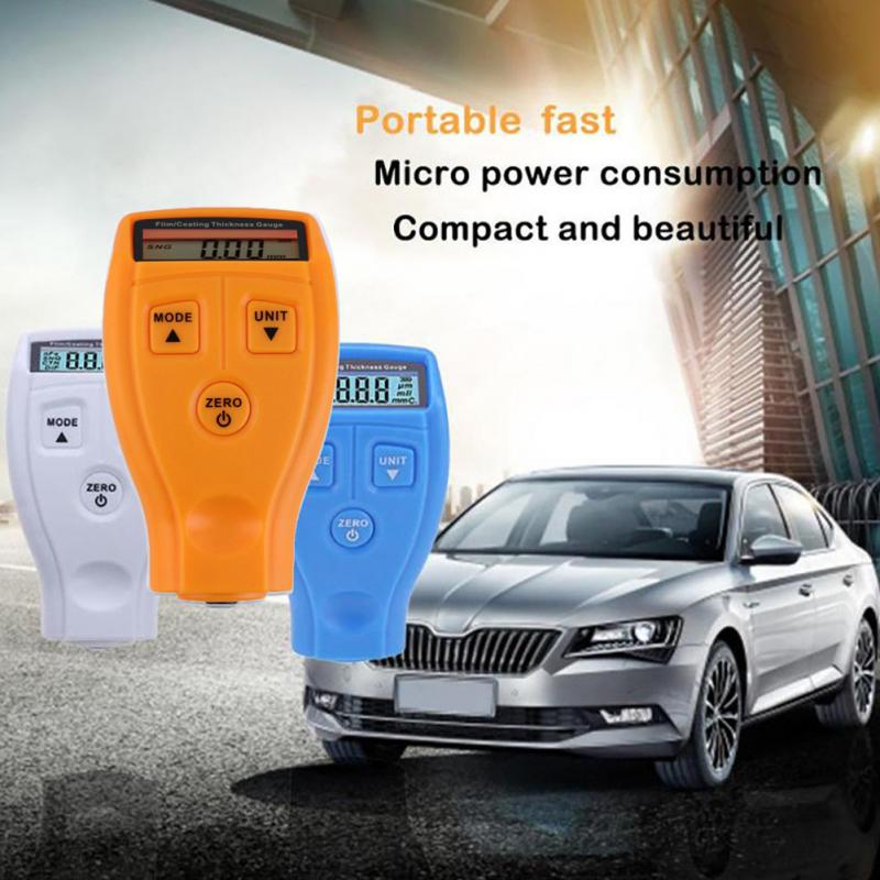 Portable Mini Paint Film Meter Tester Coating Measure Thickness Gauge Car Coating Measure Paint Gauge