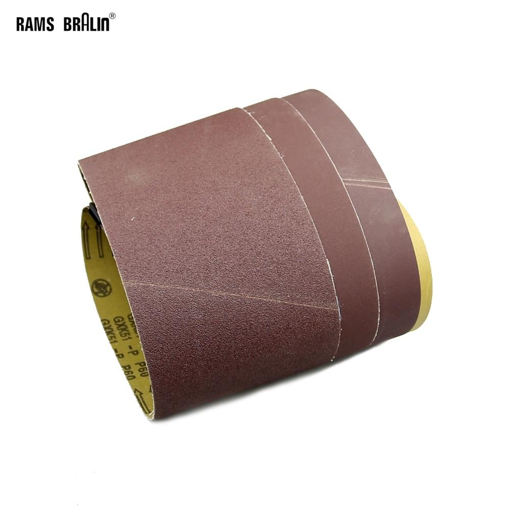 1 Piece 1220 *150 /100 /50 Mm Abrasive Sanding Belts Wood Soft Metal Grinding