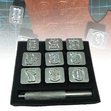 Вырезка Кожа Искусство Алфавит штампы буквы ручной работы прочный металл DIY Инструменты DC120