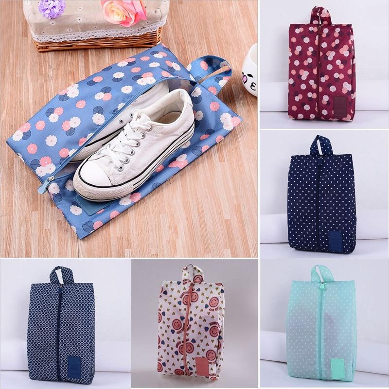 Organizer Waterproof Travel Pouch Shoe-Bag Zipper Fashion Nylon Sorting Convenient-Storage