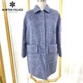 popular fashion winter short woman Coat cashmere coat female turn col cashmere women winter coat containing wool 100% wool coat
