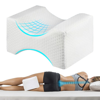 Ergonomic Foam Wedge Knee Pillow