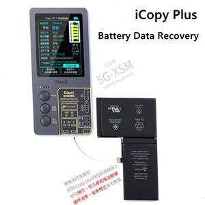 Image 4 - Icopy plus para 7 a 11 pro max toque vibrar verdadeiro tom sensor de luz data da bateria ler/escrever/editar ferramenta de reparo programador recuperação