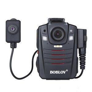 Image 4 - Boblov HD66 02 kamera policyjna 64GB pilot Ambarella A7 kamera do noszenia przy ciele 1296P noktowizor Dash Cams Security Guard Polis