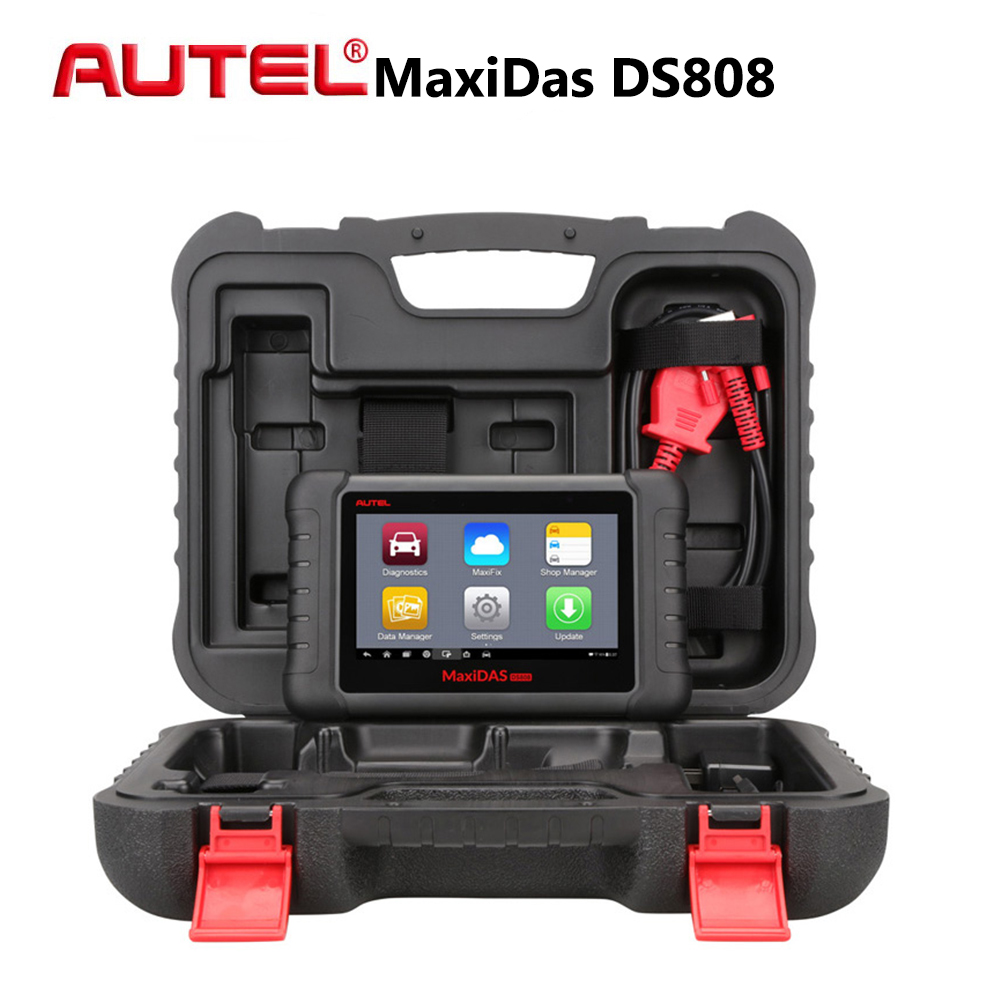 Autel MaxiDAS DS808 All System Car Diagnostic Tool Professional Auto OBD OBD2 Code Reader Scanner Update