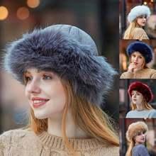 Женские меховые шапки бомберы зимняя натуральная шапка из меха