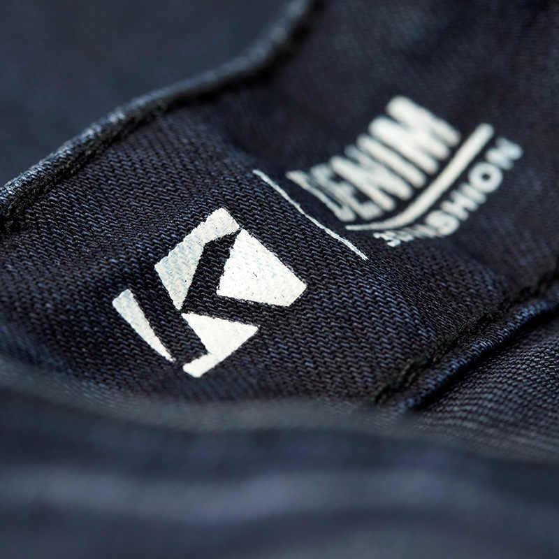 KUEGOU 2019 가을 코튼 카고 스키니 청바지 남성 Streetwear 브랜드 슬림 피트 데님 바지 남성 힙합 스트레치 바지 2938