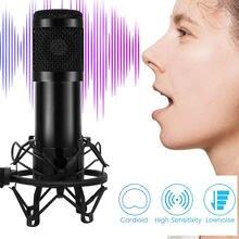 BM 800 mikrofon profesjonalny mikrofon do nagrywania z kartą dźwiękową mikrofon do Karaoke do nagrywania tik tok transmisja na żywo