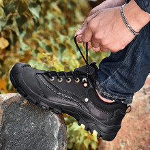 New Top Quality Outdoor Shoes Men Sneakers Plus Size 44 %9918 Men's Casual Shoes Genuine Leather Men Soft Oxford Shoes цена