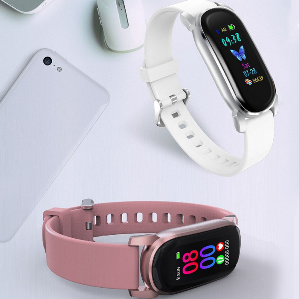 High Quality Smart Bracelet Waterproof Temperature Heart Rate Measurement Smart Bracelet Multifunction Sports Watch for Gift