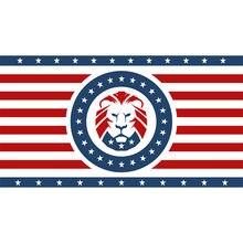Yehoy hanging 90*150cm KEEP AMERICA GREAT 2020 Trump Lion Flag per la decorazione