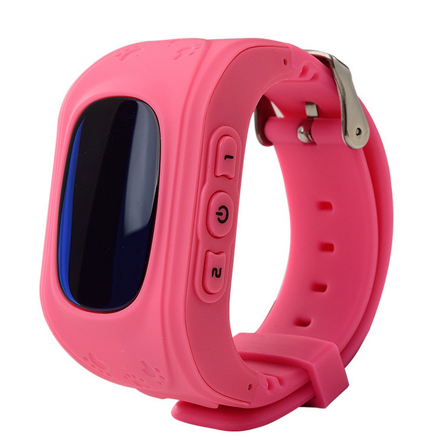 Q50 Anti Lost LCD Child GPS Tracker SOS Smart Monitoring Positioning Phone Kids GPS Baby Watch Compatible IOS & Android