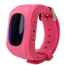 Q50 Anti Lost LCD Child GPS Tracker SOS Smart Monitoring Positioning Phone Kids