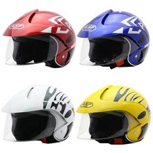 Motorcycle Children Helmet Safety Half Men Women Kid For Outdoor Sports Riding Four Seasons