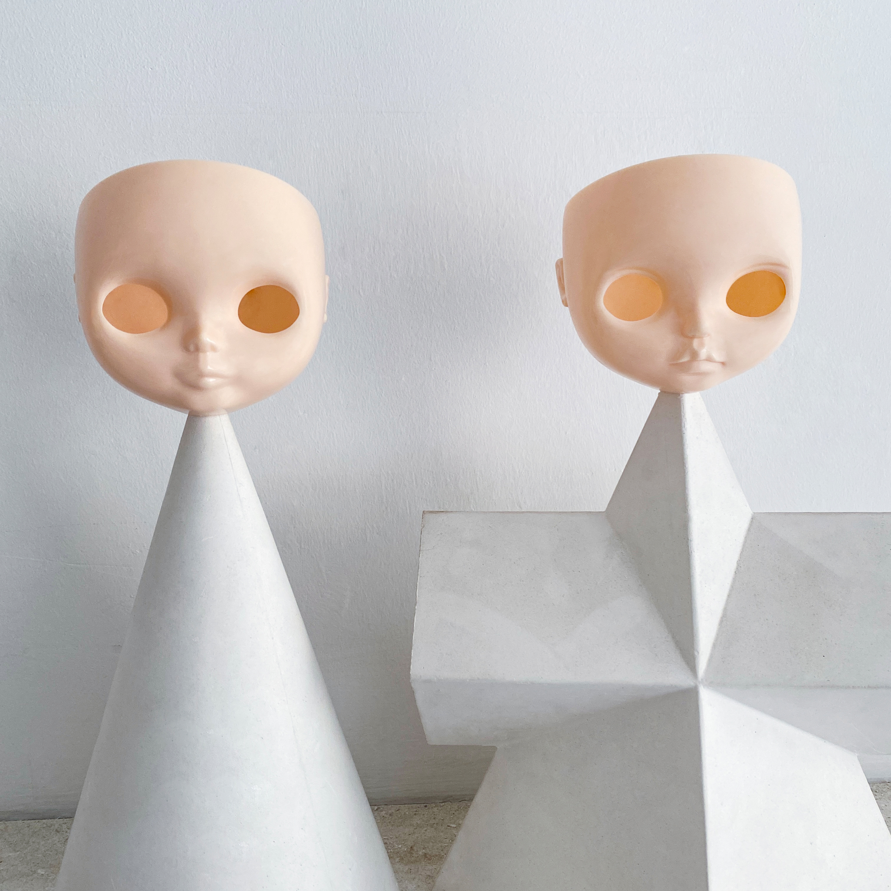 NBL Blyth accessoires de poupée pour bricolage poupée personnalisée Blythe, BJD poupée corps et visage cuir chevelu, offre spéciale en vente accessoires