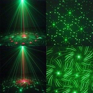 Image 2 - 24 طرق LED ديسكو جهاز عرض ليزر ضوء المرحلة تأثير ستروب مصباح ل DJ الرقص الطابق عيد الميلاد المنزل إضاءة داخلية تظهر