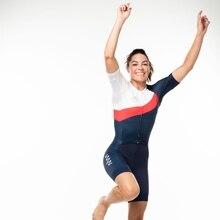 Summer Womens cycling skinsuit triatlon ropa ciclismo uniforme bicicleta triathlon skin suit run speedsuit swimwear