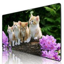 Mairuige игровой коврик для мыши группа милых кошек компьютерные