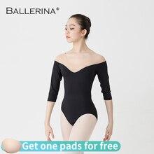 บัลเล่ต์Leotardผู้หญิงเต้นรำบัลเล่ต์CostumeProfessionalการฝึกอบรมยิมนาสติกAdulto Leotard Ballerina 5935