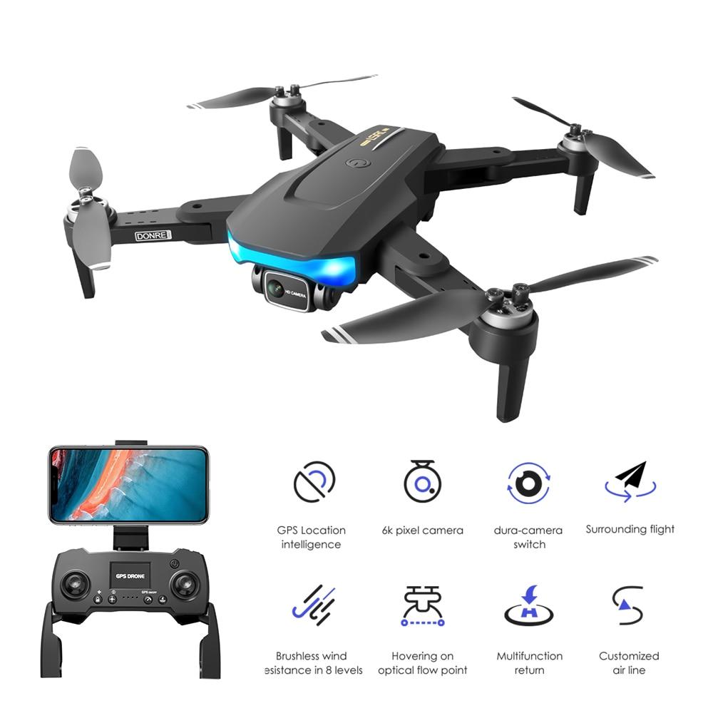 2021 Новый LS38 Дрон FPV GPS 5G WiFi 6K HD камера Профессиональная аэрофотосъемка бесщеточный двигатель RC Квадрокоптер VS L900 SG907