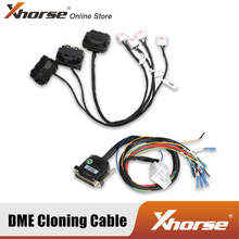 For BMW DME Cloning Cable with Multiple Adapters B38  N13  N20  N52  N55  MSV90 Work with VVDI PROG Key Programmer/CGDI/AT200