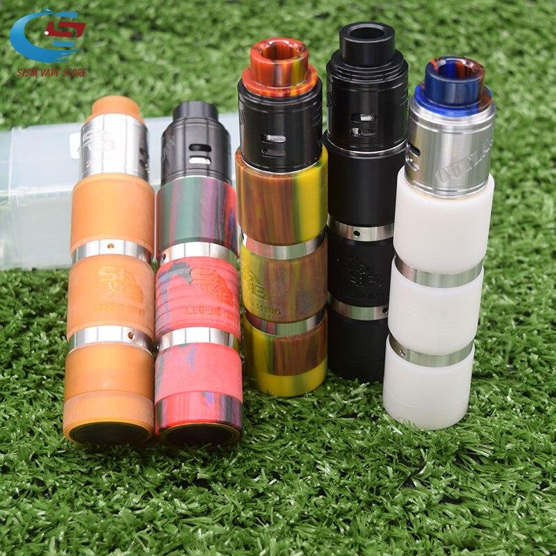 Mech Mod Kit 18650 Battery Vaporizer Mechanical Vape Electronic Cigarette Kit Vs Avidlyfe Mod Vindicator 25 Mod