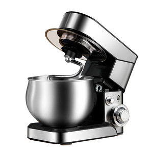 Stand Mixer Household Desktop Stainless Steel Flour-Mixing Machine Electric Whisk Eggs 5.5L
