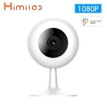 IMILAB akıllı kamera 1080P FHD kablosuz Wifi akıllı ev güvenlik kamerası kızılötesi gece görüş 360 ° IP kamera CN/küresel sürümü