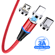 3 in 1 Magnetic Cable For iPhone 8 X Micro USB Type C Cable 3A PD Fast Charge 1m/2m Magnet Phone Cables For Samsung USB-C Cabo type c pd test board burn in board decoy test protocol board pd fast charge