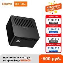 CHUWI LarkBox 4K Mini PC Intel Celeron J4115 Quad Core 6 GO de RAM 128 GO ROM Windows 10 Ordinateur De Bureau HD USB-C