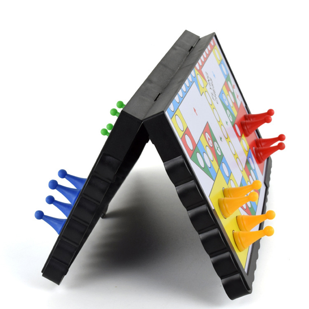 New Mini Magnetic Travel Game Ludo Flying Chess Crawling Mat Fast Dispatch Play Mat