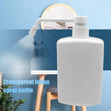 500ml Liquid Dispenser Plastic Portable Travel Leakproof Makeup Water Fine Misting Empty Spray Bottle With Long Nozzle Hand Soap