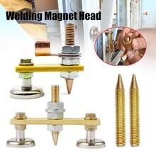 Сварочная магнитная головка магнитный сварочный заземляющий
