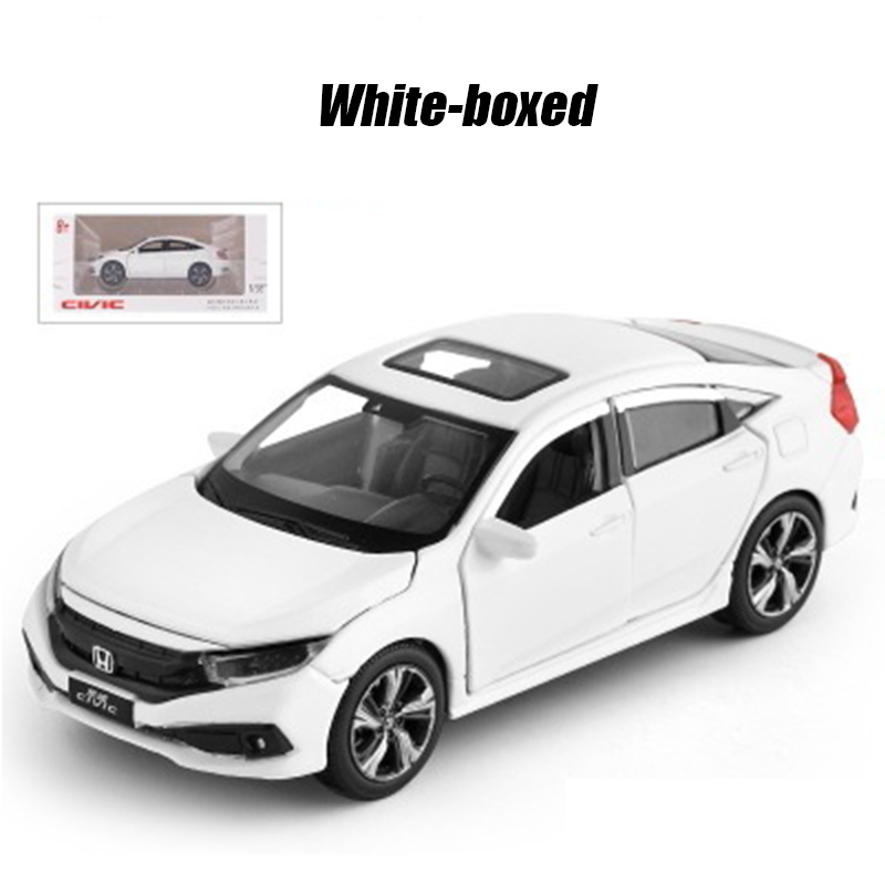 Brangdy 1:32 flashing voice citizen car alloy doll children's toy boxed hand-made boy and girl pull back figure model birth gift