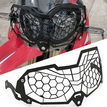 цена на For Honda CRF250L RALLY CRF 250 L 2019-2020 CRF 250L Motorcycle Headlight Head Light Guard Protector Cover Protection Grill