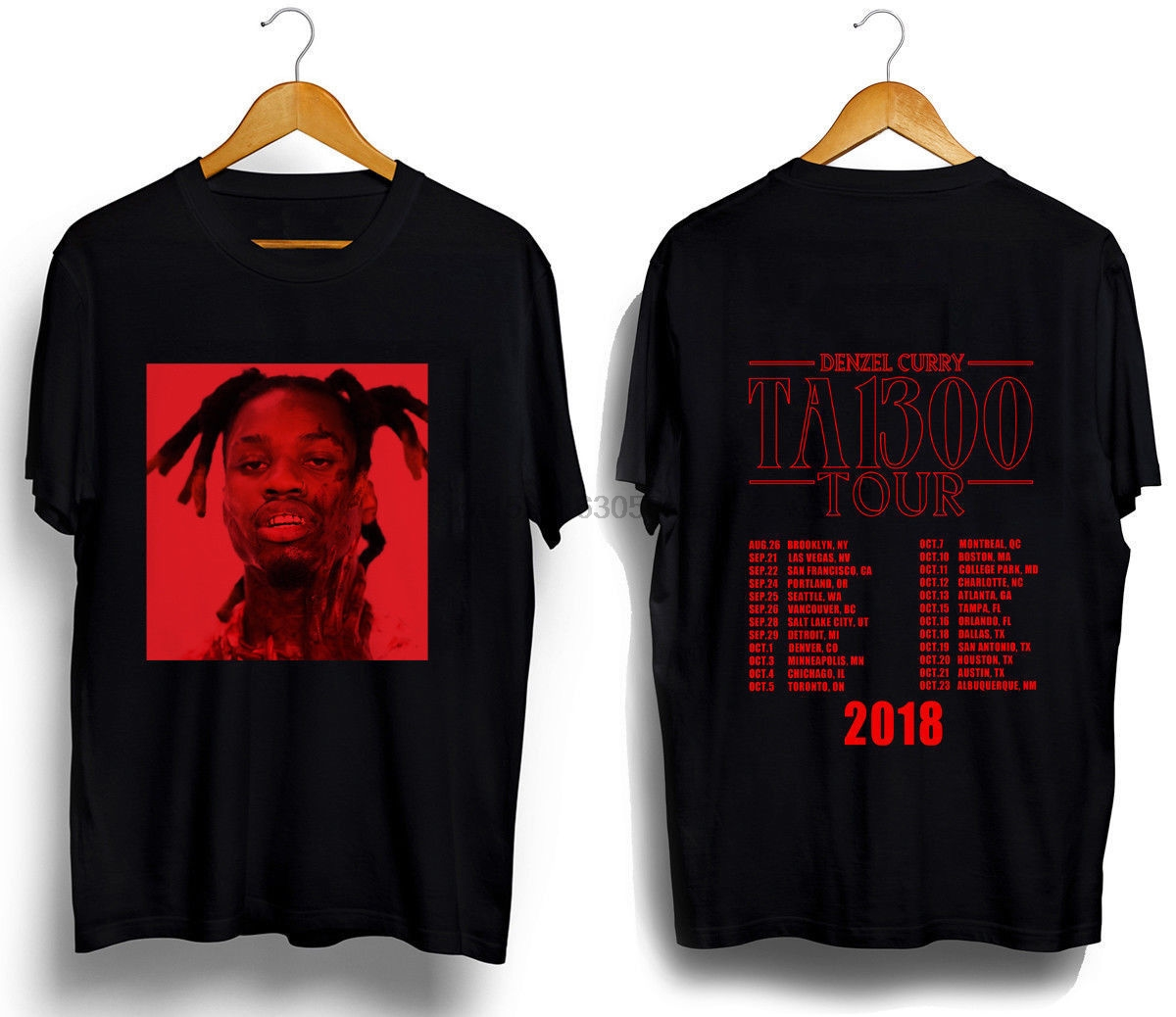 New Popular Denzel Curry Taboo Tour North America 2020 T Shirt Size S To 5xl