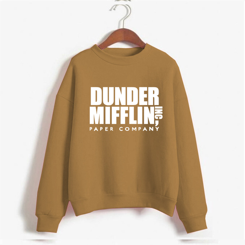 Tops The Office Tv Hoodie Men Women Dunder Mifflin Inc Paper Company Wernham Hogg TV Show Michael Scott Space Sweatshirt 11