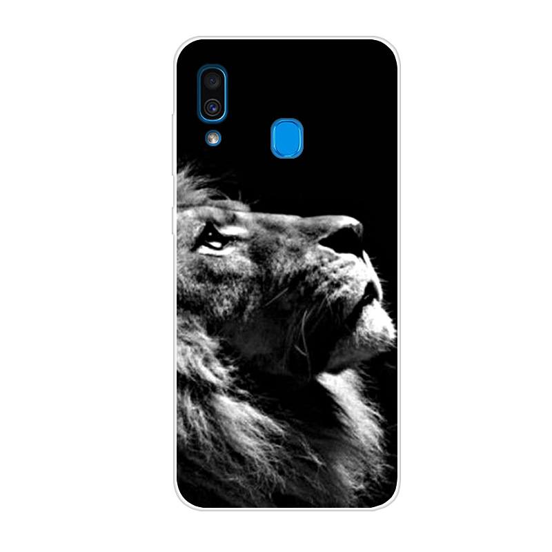 6.4'' For Samsung Galaxy A20 A30 Case Silicone Soft Back Cover Case For Samsung A30 A20 Case A 30 A 20 For Samsung A40 A20S Case