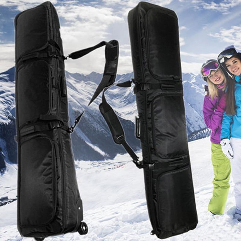 Snowboard Bag Double Board Snowboard Bag Shoulder Bag Ski Shoes Bag Shipping Ski Bag Helmet Bag Special Belt Pulley
